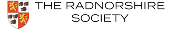 Radnorshire Society Sticky Logo